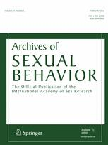 Archives of Sexual Behavior
