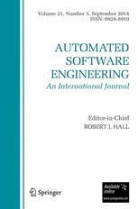 Automated Software Engineering
