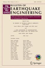 Bulletin of Earthquake Engineering