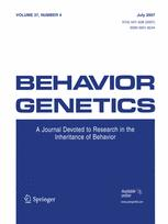 Behavior Genetics