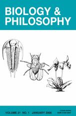 Biology and Philosophy
