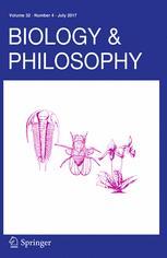 Biology & Philosophy