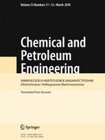 Chemical and Petroleum Engineering