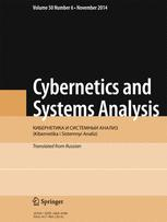 Cybernetics and Systems Analysis