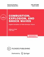 Combustion, Explosion, and Shock Waves