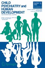 Child Psychiatry and Human Development