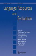 Language Resources and Evaluation