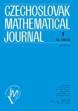 Czechoslovak Mathematical Journal