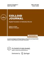 Colloid Journal
