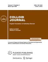 Colloid Journal