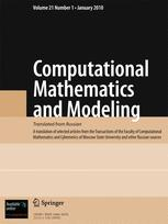 Computational Mathematics and Modeling