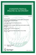 Constitutional Political Economy