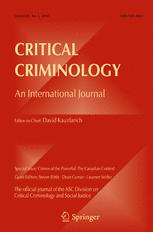 Critical Criminology