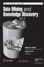Data Mining and Knowledge Discovery