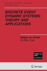 Discrete Event Dynamic Systems