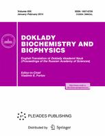 Doklady Biochemistry and Biophysics