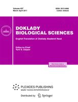 Doklady Biological Sciences
