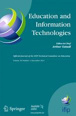 Education and Information Technologies cover image