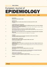 European Journal of Epidemiology