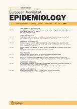 European Journal of Epidemiology
