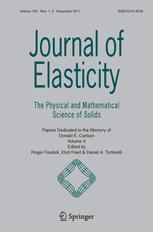 Journal of Elasticity