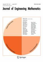 Journal of Engineering Mathematics 1/2017