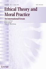 Ethical Theory and Moral Practice