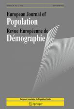 European Journal of Population / Revue européenne de Démographie
