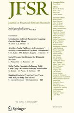 Journal of Financial Services Research 1-2/2017