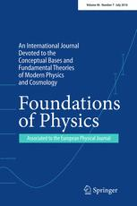 Foundations of Physics