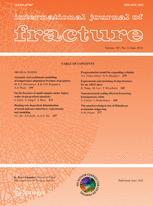 International Journal of Fracture