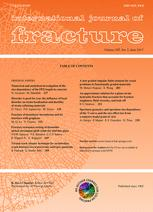 International Journal of Fracture