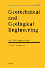 Geotechnical & Geological Engineering