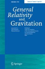 General Relativity and Gravitation