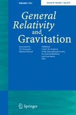 General Relativity and Gravitation