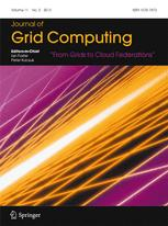 Journal of Grid Computing cover image