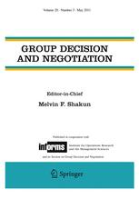 Group Decision and Negotiation