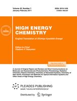 High Energy Chemistry
