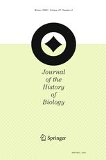 Journal of the History of Biology