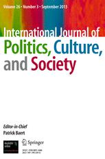 International Journal of Politics, Culture, and Society