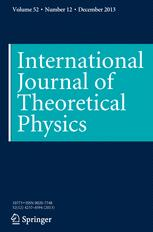 International Journal of Theoretical Physics