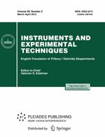 Instruments and Experimental Techniques