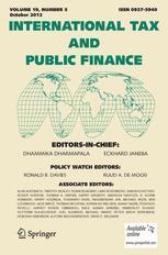 International Tax and Public Finance