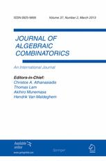 Journal of Algebraic Combinatorics