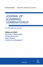 Image result for Journal of Algebraic Combinatorics