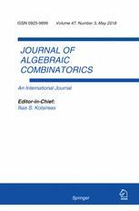 Journal of Algebraic Combinatorics