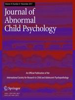 journal of abnormal child psychology springer stay up to date