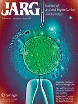 Journal of Assisted Reproduction and Genetics