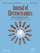 Journal of Electroceramics
