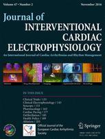 Journal of Interventional Cardiac Electrophysiology